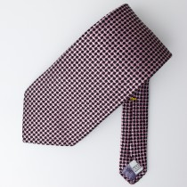 XMI Woven Silk Geometric Tie