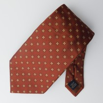 Banana Republic Woven Silk Flower Tie