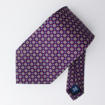 Polo by Ralph Lauren Silk Geometric Tie