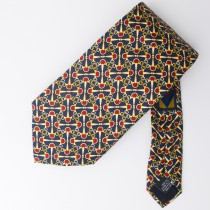 Morgano Uomo Silk Tie