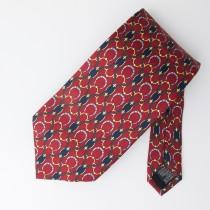 Paolo Gucci Silk Equestrian Tie