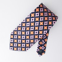 Vera Bradley for Baekgaard Geometric Silk Tie