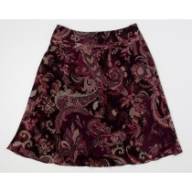 Ann Taylor Silk Skirt Women's 4