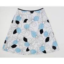 Ann Taylor Loft Petites Linen Skirt Women's 0P - 0 Petite