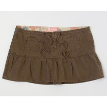 Hollister Drawstring Mini Skirt Women's 1