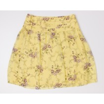 Banana Republic Pleated Silk Skirt Women's 2
