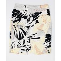 Elie Tehari Floral Print Skirt Women's 6