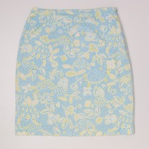 Talbots Print Skirt Women's 4