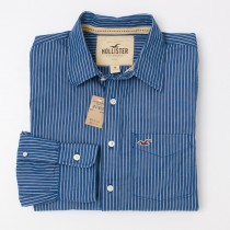 NEW Hollister Men's Striped Shirt