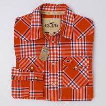 NEW Hollister Men's Plaid Western Shirt