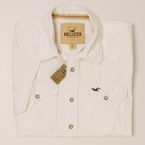 Hollister S/S Western Shirt Men's L - Large