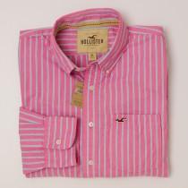 Hollister Striped Button-Down Shirt Men's XL - Extra Large
