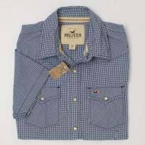 Hollister S/S Gingham Western Shirt Men's M - Medium