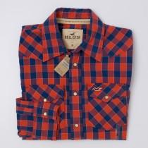 Hollister S/S Western Shirt Men's M - Medium