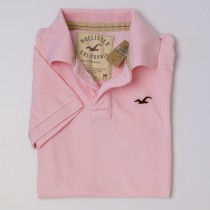NEW Hollister Men's Piqued Polo Shirt