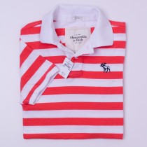 Abercrombie & Fitch Striped Polo Shirt