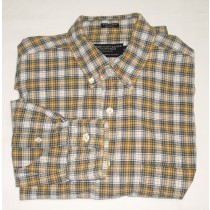 American Eagle Plaid Chambray Shirt Men's Small - S