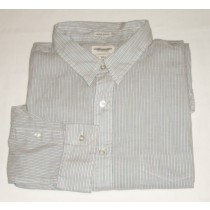 American Eagle Striped Vintage Slim Fit Shirt Men's XXLarge - 2XL