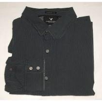 American Eagle Premium Vintage Fit Striped Shirt Men's XXLarge - 2XL