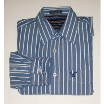 American Eagle Vintage Fit Eagle Oxford Men's Small - S