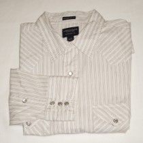 American Eagle Extreme Slim Fit Western Snap Shirt Men's Large - L