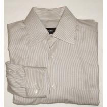 Boss by Hugo Boss Striped Twill Shirt - 14.5 32/33