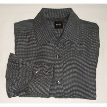 Boss by Hugo Boss Woven Check Shirt - Large