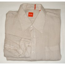 Hugo Boss Orange Label Linen Shirt - 2XL