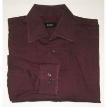 Boss by Hugo Boss Maroon Shirt - 16.5