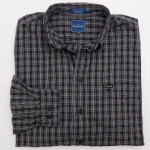 Faconnable Check Twill Shirt Men's 2XL - XXLarge
