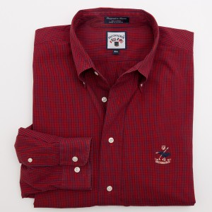 Faconnable Gingham Check Shirt Men's XLL - Extra Large Long