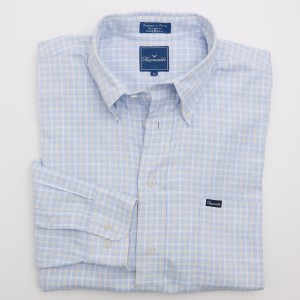 Faconnable Woven Check Shirt Men's XL - Extra Large