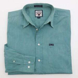 Faconnable Chambray Shirt Men's M - Medium