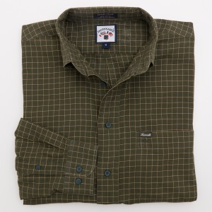 Faconnable Check Twill Shirt Men's M - Medium