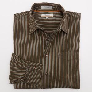 Faconnable Jeans Striped Shirt Men's L - Large