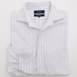 Faconnable Striped Dress Shirt w/French Cuffs Men's 39 - 15.5