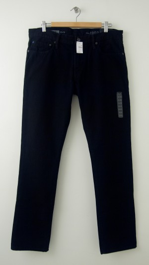 NEW Gap Men's 1969 Skinny Fit Jeans in Black
