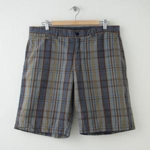 Banana Republic Plaid Linen Shorts Men's Size 35