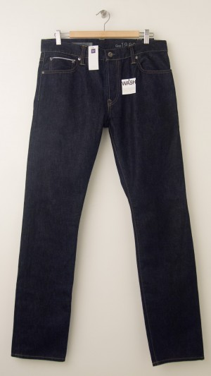 NEW Gap Men's 1969 Authentic Skinny Red Line Selvage Jeans