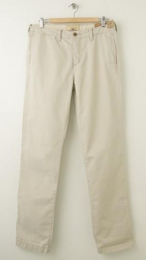 NEW Hollister Skinny Chinos Pants in Beige Men's 32 x 32