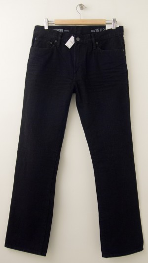 NEW Gap 1969 Standard Jeans in Black Men's 31 x 32