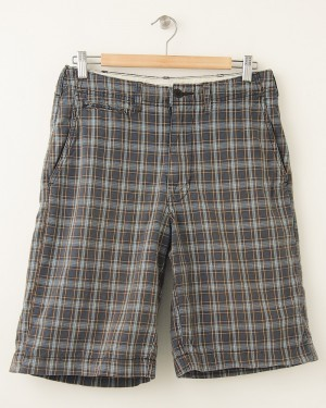 American Eagle Outfitters The AE Plaid Bermuda Shorts Men's 28