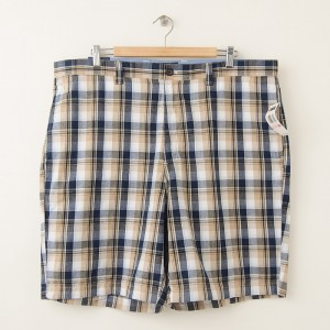 NEW Chaps Flat Front Walking Shorts Men's 40