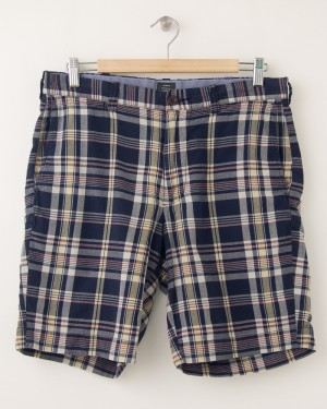 J. Crew Sawgrass Madras Stanton Shorts Men's 32