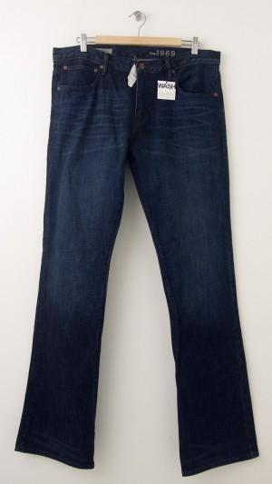 NEW Gap Men's 1969 Slim Boot Fit Jeans in Savannah