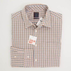 Gap Lived-In Wash Mini Vintage Twist Tattersall Shirt