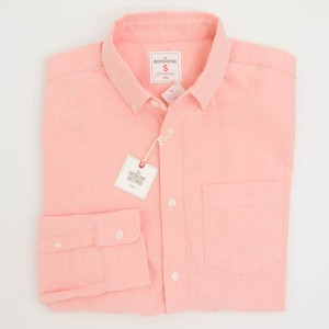 Gap Modern Oxford Shirt in Orange Jubilee