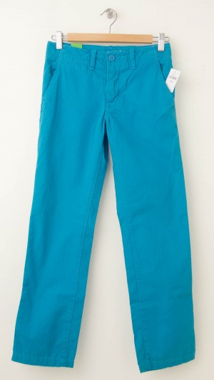 NEW GapKids Boy's Spring Straight Chino Pants in Blue