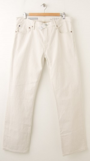 NEW Gap 1969 Straight Jeans in Natural