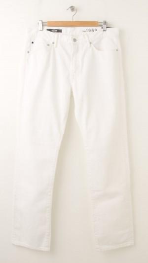 NEW Gap 1969 Slim Jeans in White